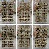Рыба Mich Straberry, etc серег стержня охраны окружающей среды Natrual деревянная конструирует иглу ручки утюга упаковки 12pairs/Card