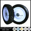 6X1.2  트롤리를 위한 강철 변죽을%s 가진 단단한 고무 바퀴