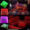 2016 nuevas llegadas Etapa de la boda del RGB LED DMX Espejo Pista de baile