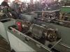 Manguito metálico flexible mecánico que hace la máquina