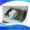 Edelstahl-einziehbarer Teller-Abfluss-Wasser-Korb (KR-04)