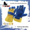 Echter industrielle Sicherheits-Kuh-aufgeteiltes Leder-Arbeits-Handschuh