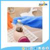 Barbacoa guantes de silicona para hornear Guantes de silicona para horno resistentes al calor con dedos