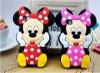 Linda Stitch de dibujos animados Sulley Minions Minnie Mouse 3D cubierta de silicio caso para Samsung Galaxy Trend Plus S7580 5 2016