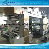 Máquina de impresión flexográfica Papel de película plástica Material de rollo