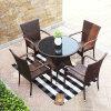 現代柳細工のレストラン/喫茶店は台に置き、議長を務める屋外の藤の家具(Z348)を