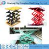 Mini table élévatrice hydraulique de ciseaux de travail du bois