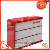Contador de caja de madera mostrador para supermercado