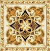 Tegel 1200X1200mm van de Vloer van het Kristal van het Tapijt van het Patroon van de bloem Tegel Opgepoetste Ceramische (BMP34)