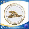 Монетки металла выдвиженческие с эмалью для сувенира