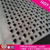Feuille ronde en acier inoxydable perforée de 0,8 mm, feuille perforée en acier inoxydable perforée