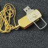 Colgantes de diamantes de la unidad flash USB Flash Memory Stick USB