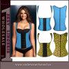 Mulheres Eróticas Quadriculação de Latex Underbust Espartilho Sexy Lingerie (TLQ885)