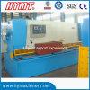 QC11y-16X3200 Nc guillotine de cisaillement hydraulique de commande de machines et machines de coupe
