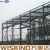 El fabricante atraviesa directo extensamente la estructura de acero ligera en África