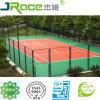 Court de tennis en caoutchouc synthétique résistant aux intempéries