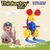 Preschool игрушек строительных блоков животного парка цветастый воспитательный