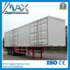Sale를 위한 3 차축 Cargo Box Freezer Truck Used Refrigerated Trailers