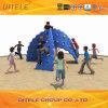 أطفال خارجيّة تسلية ملعب صخرة يصعد جدار ([رك-25902])