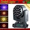 19X15W Bee Eye LED RGBW Zoom Moving Head Light Beam Wash