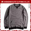 2017 свитеров Hoodies самой новой конструкции удобных серых без клобука (ELTHI-49)