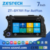Eifer-Auto Stereo-GPS-Nautiker Headunit Multimedia für Ssang Yong Actyon (ZT-SY701)