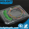 Отрезок провода однорежимные 0.9mm оптического волокна LC APC 12 цветов