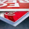 Design personnalisé à la mode à la fine pointe de la couleur Corflute Plastic Board Printing