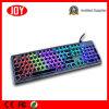 Diodo emissor de luz colorido prendido do teclado mecânico ótico