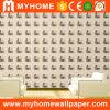 1.06M coreana del estilo moderno de PVC impermeable del papel pintado 3D para materiales de construcción