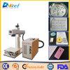 Портативный 10W Raycus станок для лазерной маркировки волокон и станок для лазерной гравировки