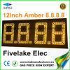 12inch LED changeur du prix du gaz signe (NL-TT30F-3R-4D-Orange)