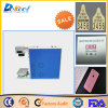 Máquina de la marca del Etcher del laser de la fibra del CNC Mopa para la caja del teléfono