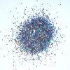 Nail (b)를 위한 용해력이 있는 Resistant Glitter