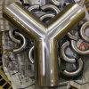 3A het y-Type van Stuiklas van het roestvrij staal Hygiënisch T-stuk