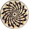 Natuurlijk Marmeren Mozaïek/Medaillon/Patroon (RM048)