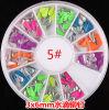 새로운 Design Nail Art Decoration Stickers Metallic Stud Colour Rivet 3*6mm Drop Design