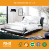 A256 현대 간단한 침실 가죽 침대