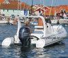 Bateau gonflable rigide de bateau de côte de Liya 5.8m avec la vente de moteur