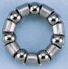 1/4-дюймовый стальной шарик фиксатора с хромированной стальной шарик