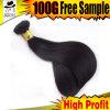 100%Europeanバージンの毛のまっすぐな高品質の人間の毛髪