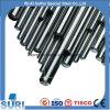 Barre creuse X6crmos17 1.4105 de l'acier inoxydable SS304 d'extrusion chaude