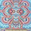 Lignes verticales ethniques colorées tribales abstraites tissu de vêtements de bain de Spandex de polyester
