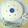 Switch Contronl 2USB BS Plug를 가진 영국 Socket Samrt Socket