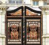 De decoratieve Poort Van uitstekende kwaliteit van het Huis van het Aluminium van het Smeedijzer