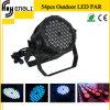 Professionnel 54*3W RGBW DEL PAR pour Stage Disco Lighting