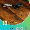 Pavimento laminado com mão 12.3mm com molho de mão com cerejeira V-Grooved