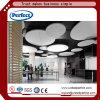 Panneau de plafond décoratif vert de /Suspended de cloison de plafond d'Acoutic de matériaux avec la circulaire