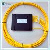 Acoplador fundido óptico de fibra del arreglo para requisitos particulares del rectángulo plástico 1X6