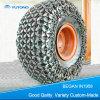Chaînes modifiées de protection de pneu de chargeur de roue